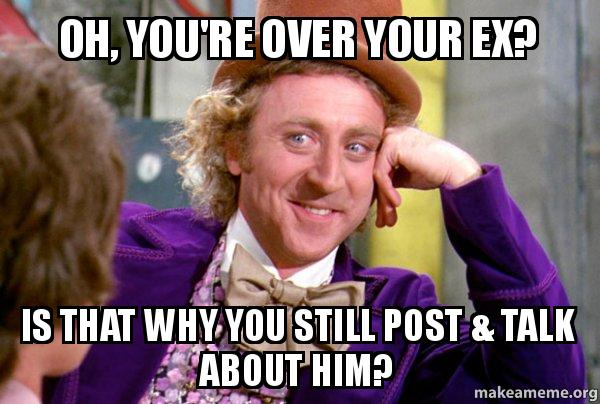 post photos of your ex