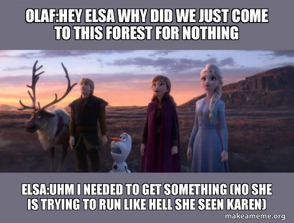 Frozen 2 meme