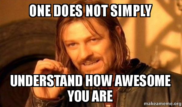 Image result for who's awesome you're awesome