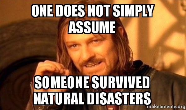 Natural Disasters Name Generator
