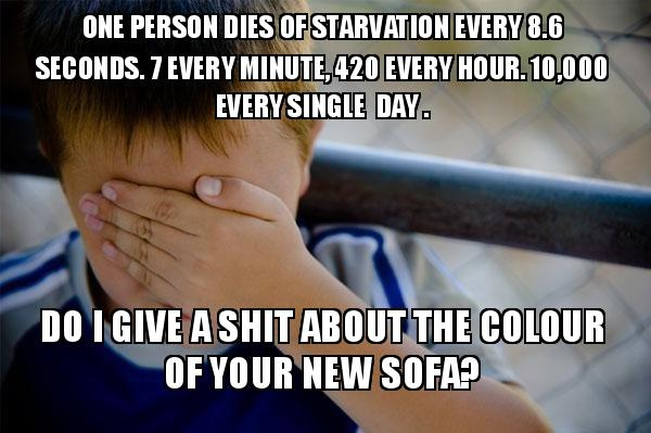 One Person Dies Of Starvation Every 8 6 Seconds 7 Every Minute 420