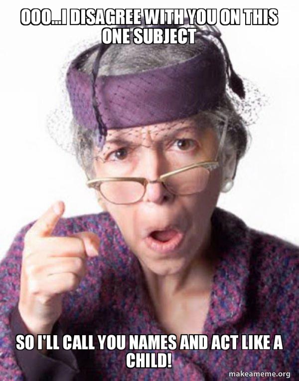Disapproving Grandma meme
