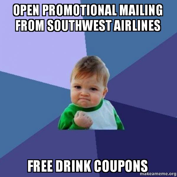 photograph regarding Printable Southwest Drink Coupons identify Us air consume discount coupons / Affordable bargains dubai holiday seasons