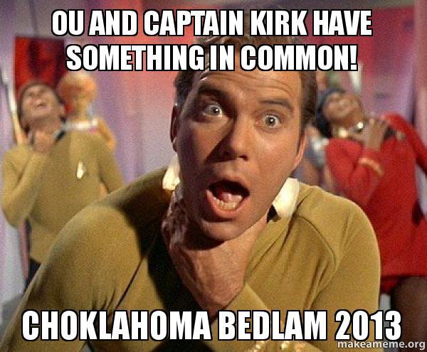 Captain Kirk Choking meme