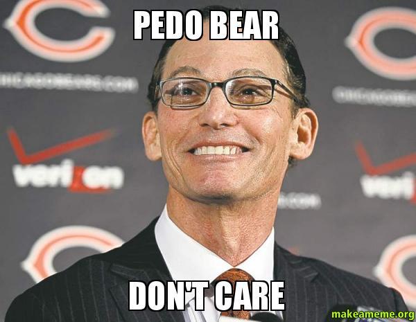 pedo bear don t care