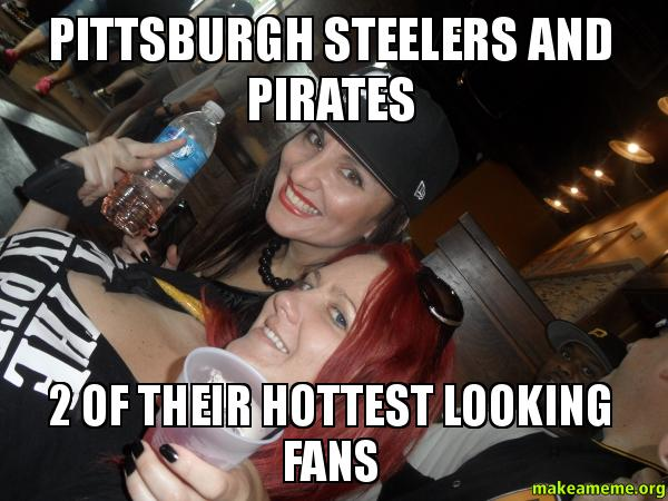 Pittsburgh Steelers And Pirates 2 Of Their Hottest Looking Fans