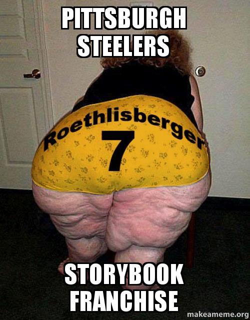 Pittsburgh Steelers Storybook Franchise Make A Meme