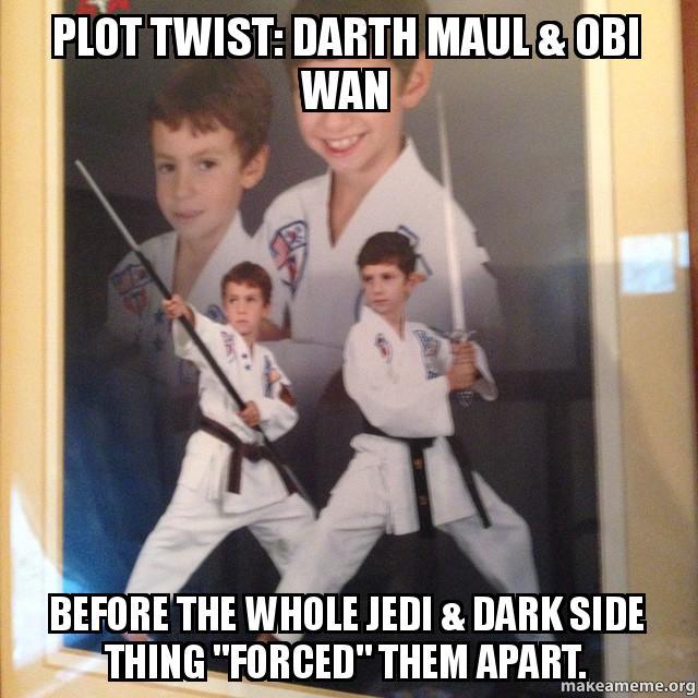 Enter The Plot Twist