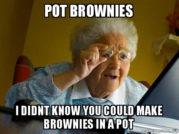 pot brownies i pot brownies i didnt know you could make brownies in a pot