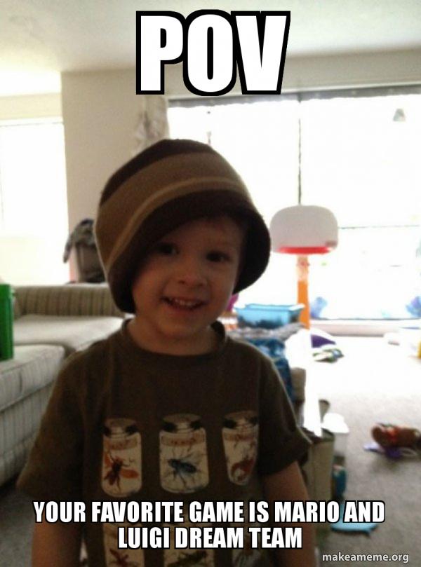Scumbag Toddler meme