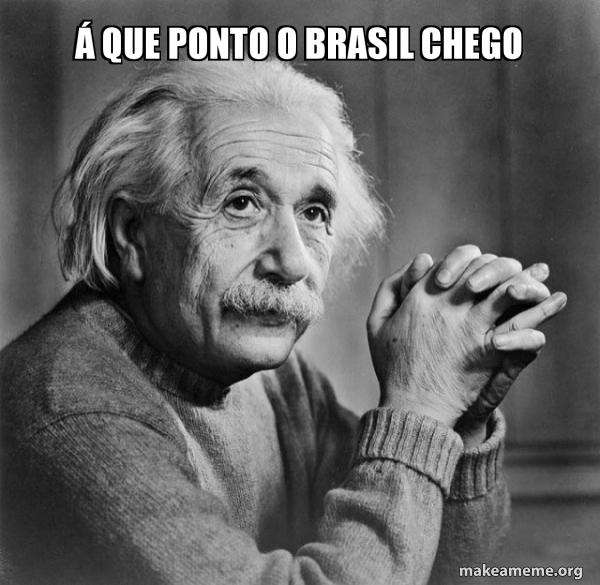 Serious Albert Einstein meme