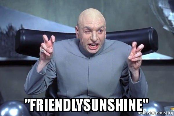User icon for Friendlysunshine