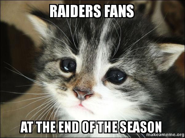 Rspiders Reddit Raiders fans At the en...