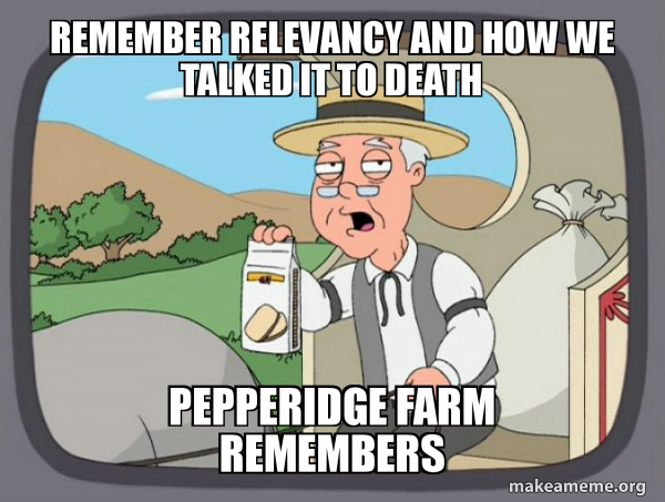 Pepperidge Farm Remembers meme