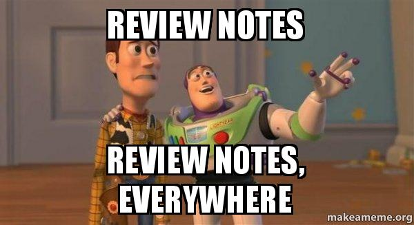 ... notes, everywhere - Buzz and Woody (Toy Story) Meme | Make a Meme