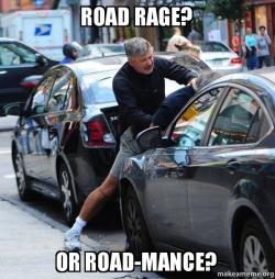 Road Rage? Or Road-mance? - Alec Baldwin has had enough