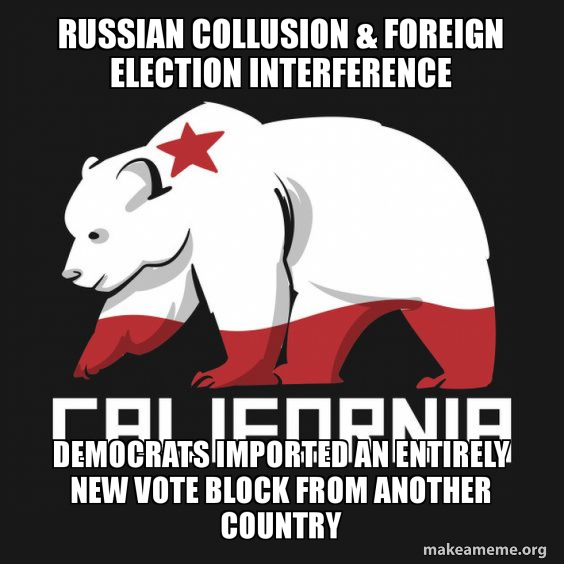 Russian collusion & foreign election interference Democrats