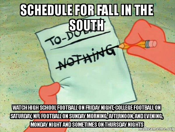 friday football schedule thursday college football schedule