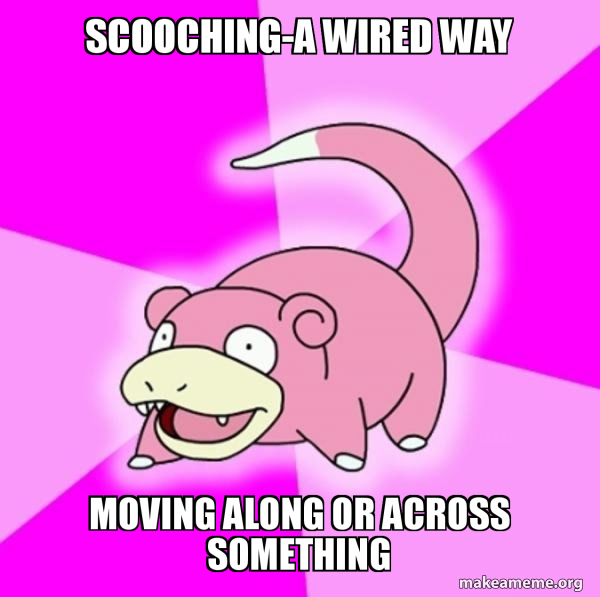 Slowpoke the Pokemon meme