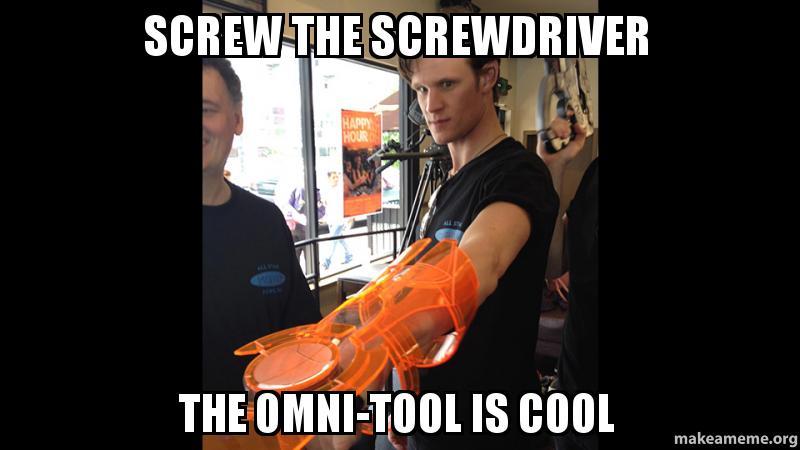 SCREW THE SCREWDRIVER The Omni-Tool is Cool - Screw the screwdriver