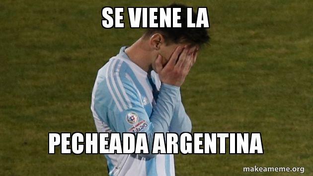 POLVO COMPLETO CON ARGENTINA EN CUATRO PATAS SE LE VIENE