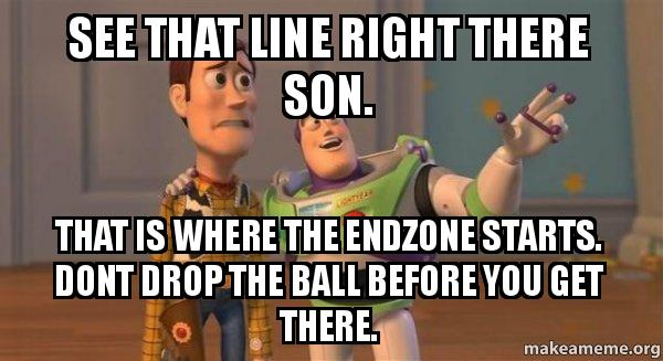 ... before you get there. - Buzz and Woody (Toy Story) Meme | Make a Meme