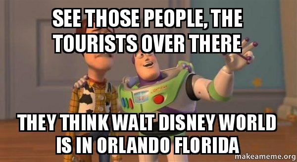 ... is in Orlando Florida - Buzz and Woody (Toy Story) Meme | Make a Meme