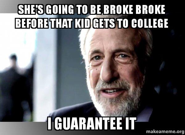 I Guarantee it - George Zimmer  meme