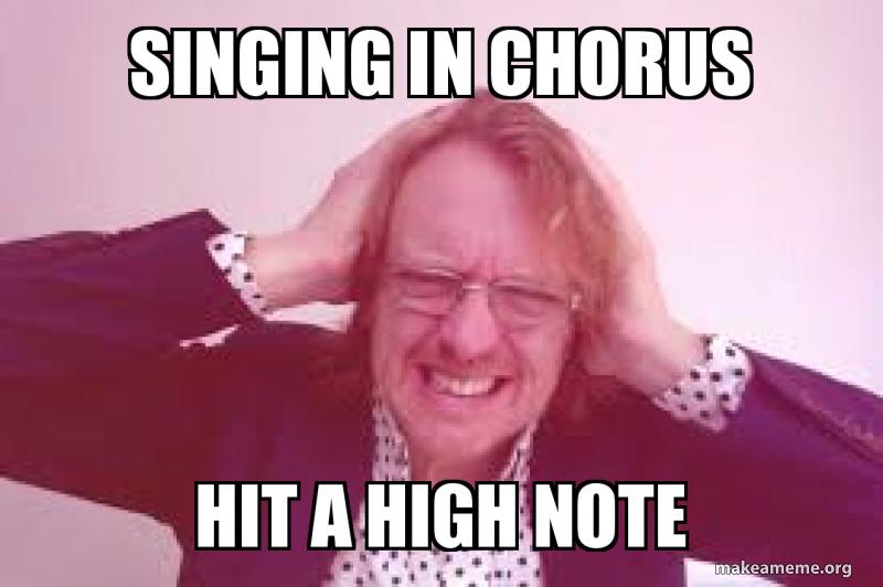 Image result for singing meme