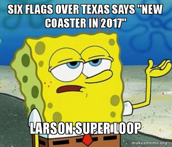 six flags over six flags over texas says \