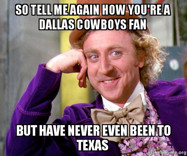 ccbed1380 So tell me again how you're a Dallas Cowboys fan but have never even ...