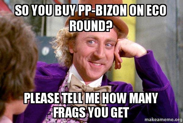 Resultado de imagen de memes pp bizon