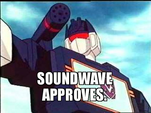Soundwave | Expression Meme | Know Your Meme