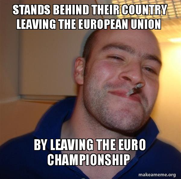 stands behind their stands behind their country leaving the european union by leaving