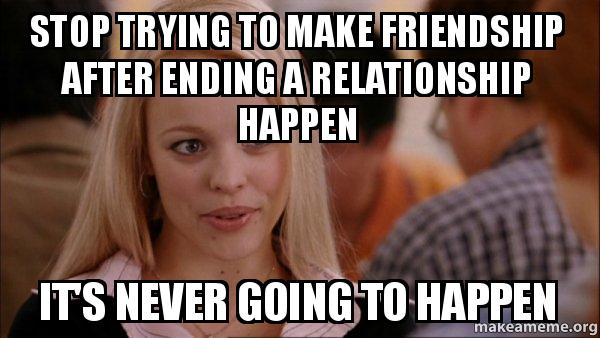 ending a relationship meme