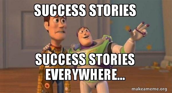 Success Stories Success Stories Everywhere Buzz And Woody Toy