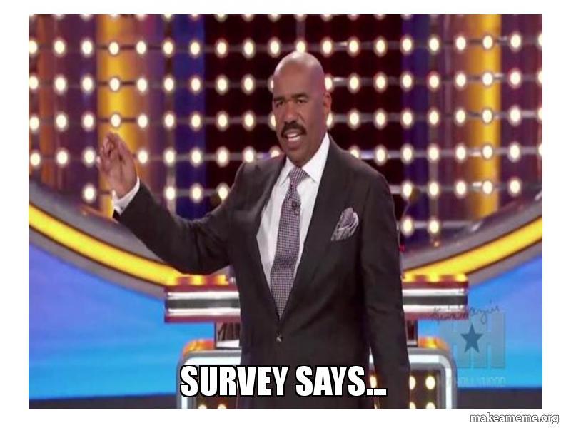 Survey Says Meme Survey Says... | Make ...