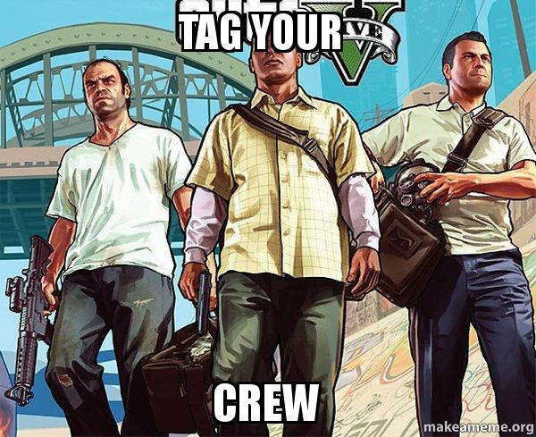 how to make your own gta crew ps4