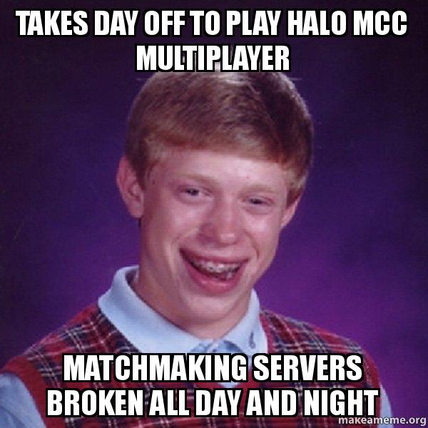 halo matchmaking day We reveal which matchmaking hoppers will be available on october developer 343 industries has revealed the launch day matchmaking playlists for halo 5.