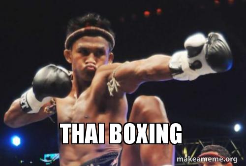 Thai Boxing Make A Meme