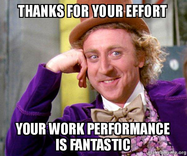 Thanks For The Great Work : Thanks for your effort work performance is fantastic