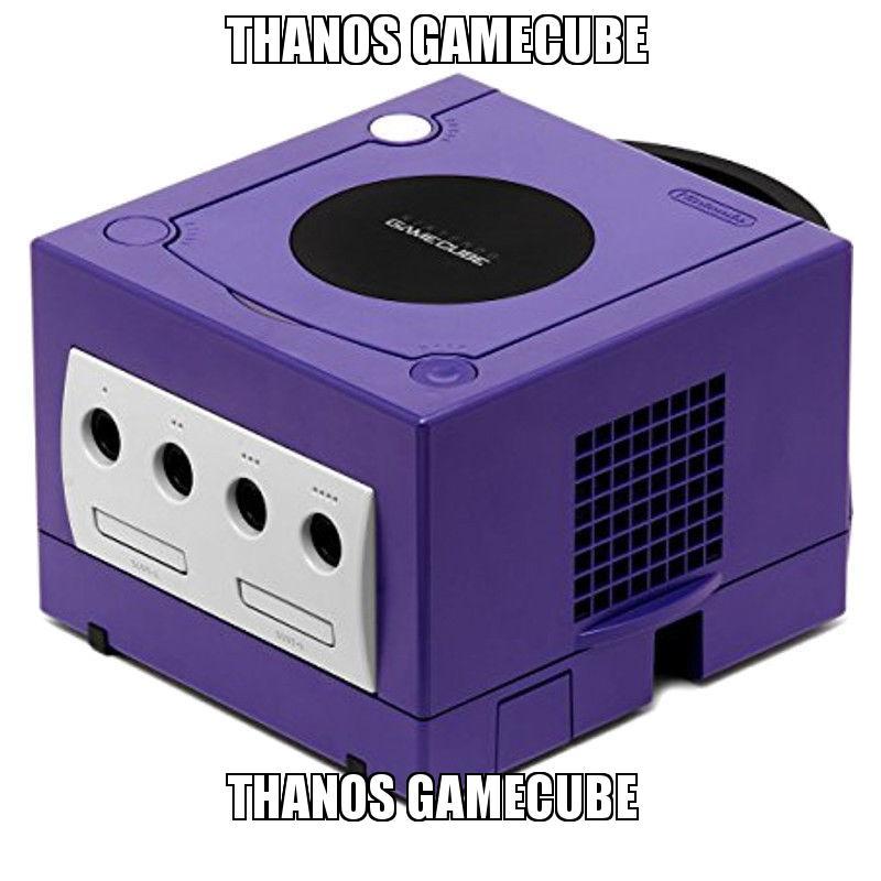 thanos gamecube Thanos GameCube | Make a Meme