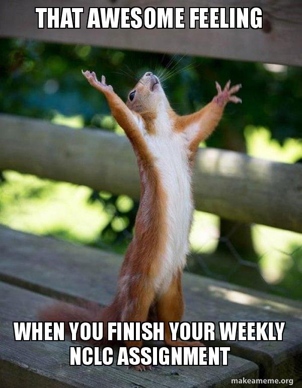 Finish assignment