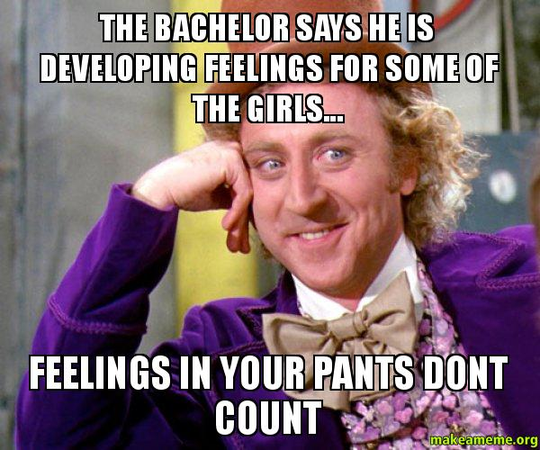 the bachelor says the bachelor says he is developing feelings for some of the girls