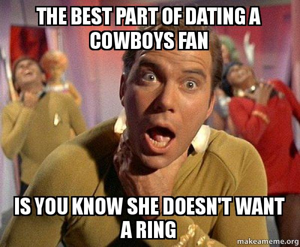 Dating een Cowboys fan