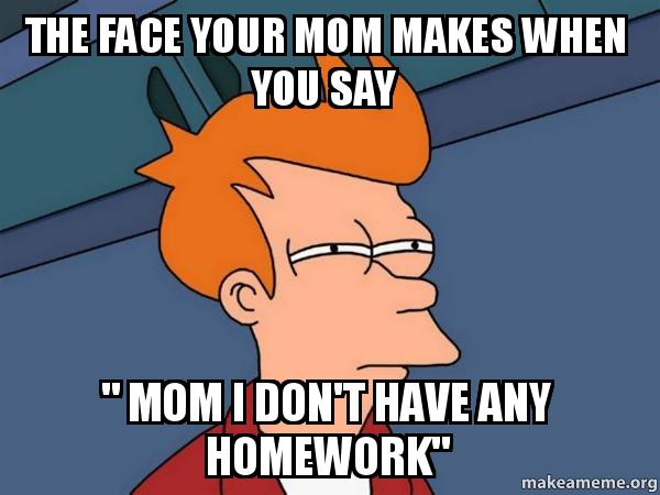 Submit your homework