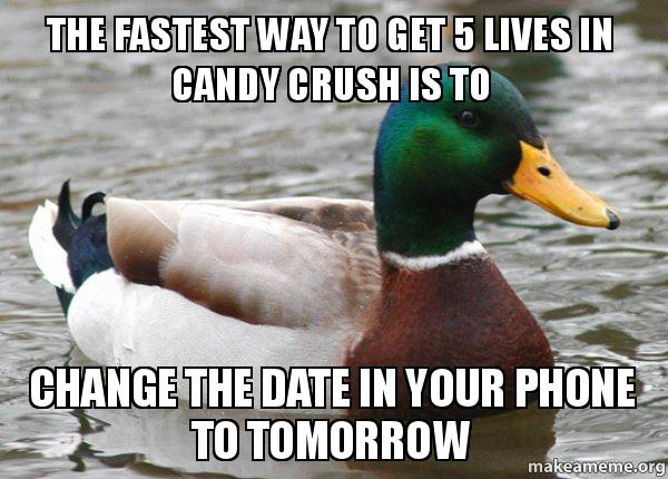 Actual Advice Mallard meme