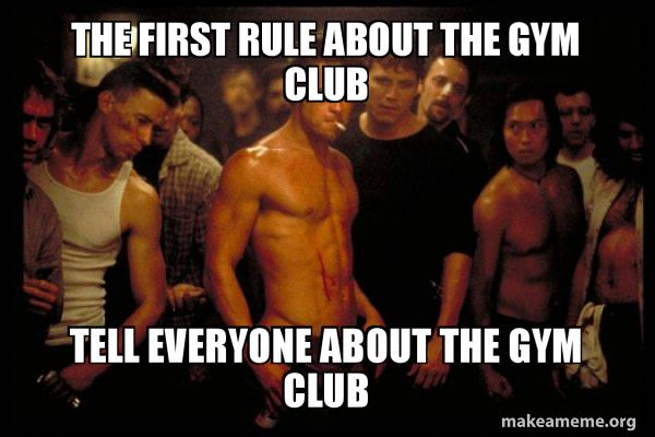 Fight Club meme