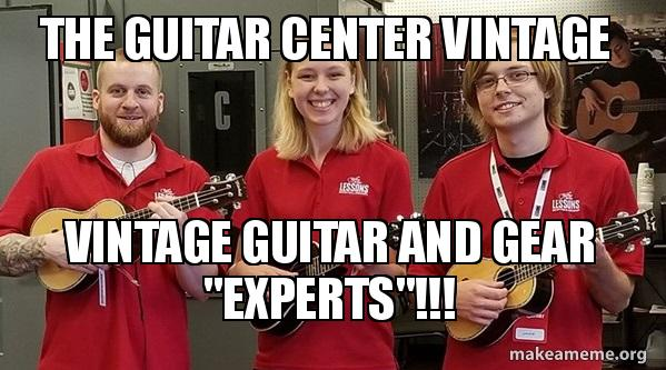 The Guitar Center Vintage Vintage Guitar and Gear