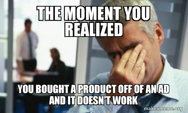 Male First World Problems meme